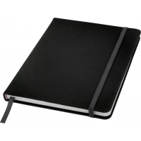 Branded A5 hard cover notebook